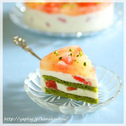 5月のお菓子・グレープフルーツとチーズ_a0392423_00151815.jpg