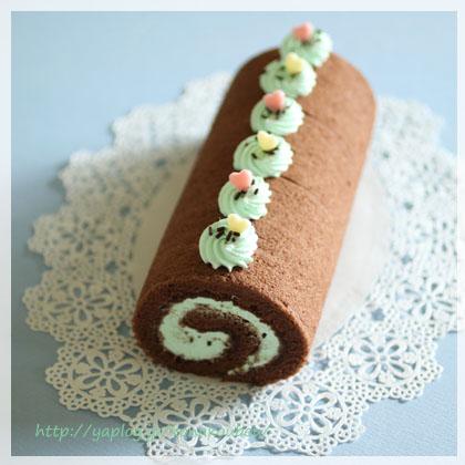 5月のお菓子・チョコミントロール_a0392423_00151882.jpg
