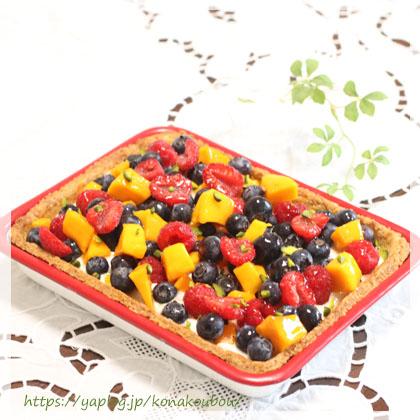 8月のお菓子・チーズトレイベイク_a0392423_00153850.jpg