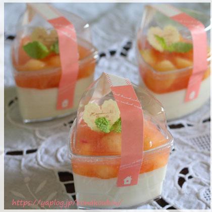 ☆レシピ☆アーモンドミルクと桃のデザート_a0392423_00154175.jpg