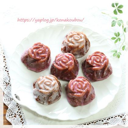 5月のお菓子・ローズケーキ_a0392423_00163663.jpg