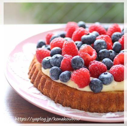 7月のお菓子・果樹園のケーキ_a0392423_00164842.jpg