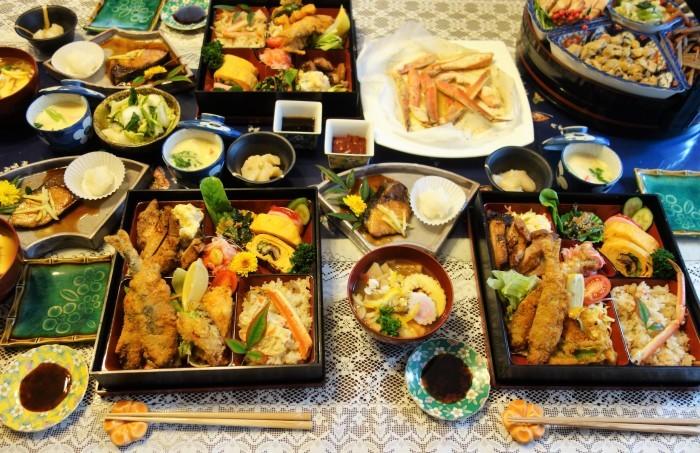 ■おもてなし料理正月【1月2日の朝ご飯②メイン料理と全貌編】_b0033423_19242462.jpg