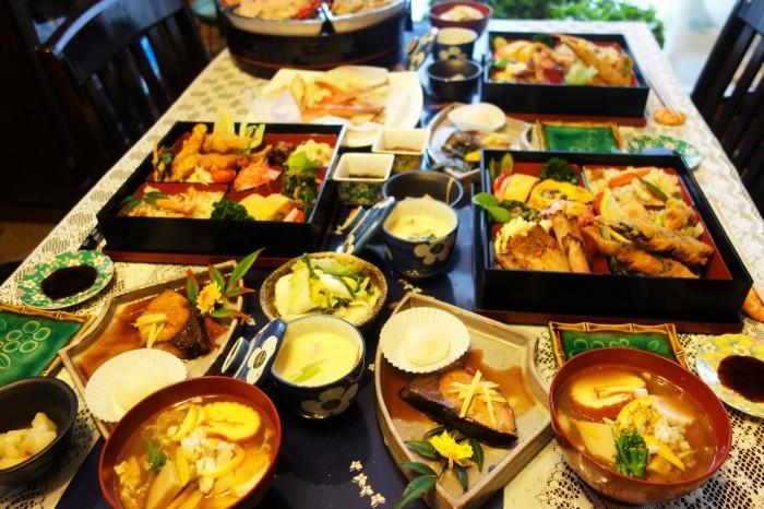 ■おもてなし料理正月【1月2日の朝ご飯②メイン料理と全貌編】_b0033423_19250563.jpg
