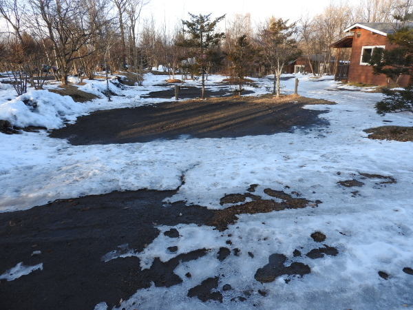 今週末の天気と気温(2020年1月9日)雪解け進む、場内一部ツルツル・どろどろです_b0174425_19231065.jpg