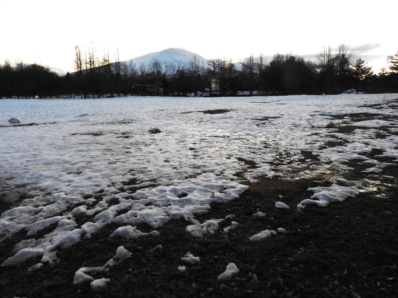 今週末の天気と気温(2020年1月9日)雪解け進む、場内一部ツルツル・どろどろです_b0174425_19253061.jpg