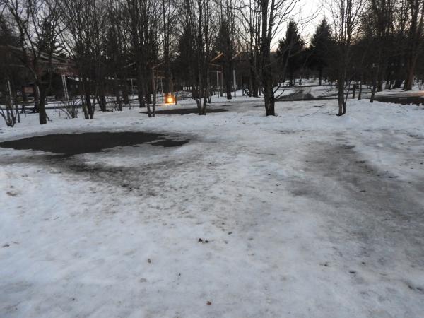 今週末の天気と気温(2020年1月9日)雪解け進む、場内一部ツルツル・どろどろです_b0174425_19260757.jpg