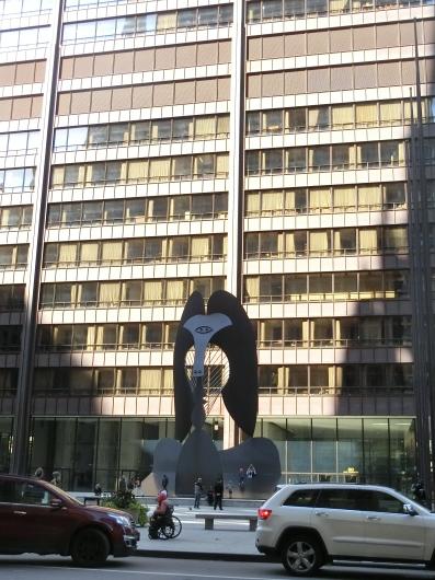 シカゴの街中 ☆ パブリックアート_e0303431_17441014.jpg