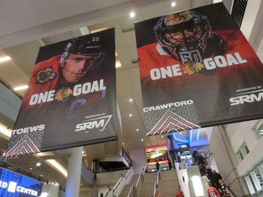 NHL観戦 ☆ シカゴ ブラックホークス VS カナダ in UNITED CENTER _e0303431_19000672.jpg