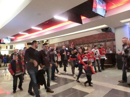 NHL観戦 ☆ シカゴ ブラックホークス VS カナダ in UNITED CENTER _e0303431_19012791.jpg