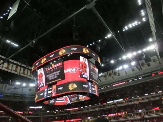 NHL観戦 ☆ シカゴ ブラックホークス VS カナダ in UNITED CENTER _e0303431_19095549.jpg