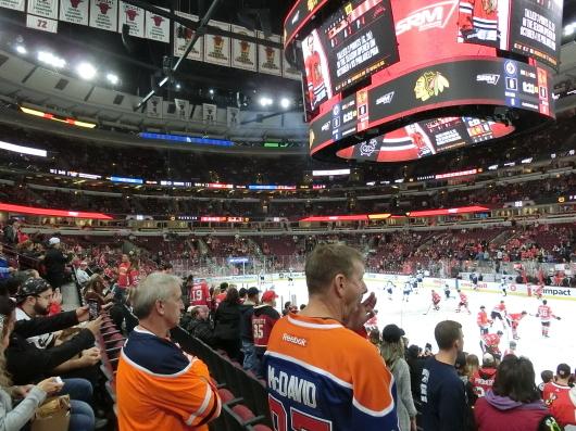 NHL観戦 ☆ シカゴ ブラックホークス VS カナダ in UNITED CENTER _e0303431_19105376.jpg