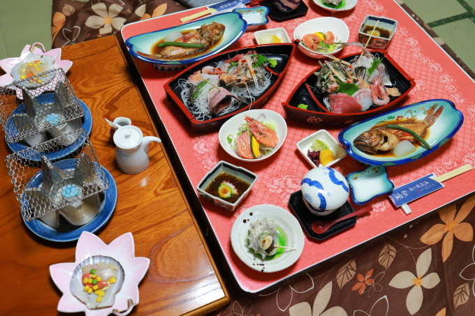 宿のお料理 西伊豆旅行 - 5 -_f0348831_08071235.jpg