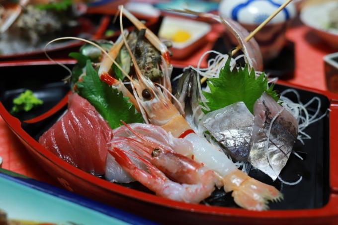 宿のお料理 西伊豆旅行 - 5 -_f0348831_08071313.jpg