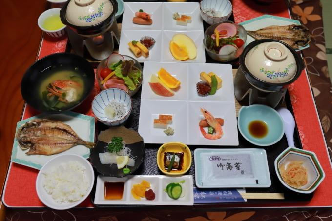 宿のお料理 西伊豆旅行 - 5 -_f0348831_08072282.jpg