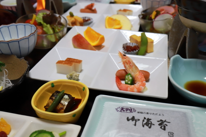 宿のお料理 西伊豆旅行 - 5 -_f0348831_08072298.jpg
