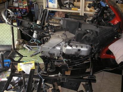 BMW  K1200RS+EML サイドカー(クラッチレリーズとクラッチ板の交換)_e0218639_10241984.jpg