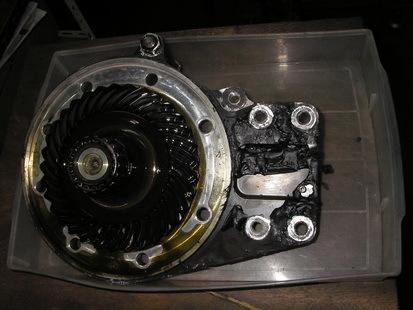 BMW  K1200RS+EML サイドカー(クラッチレリーズとクラッチ板の交換)_e0218639_10355414.jpg