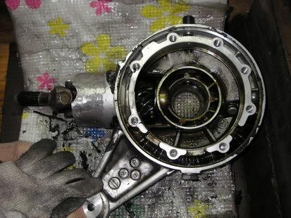 BMW  K1200RS+EML サイドカー(クラッチレリーズとクラッチ板の交換)_e0218639_10362646.jpg