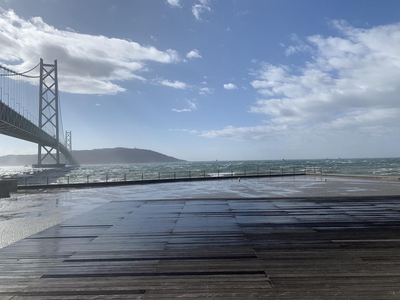 暴風警報下の舞子海岸(舞子 垂水 神戸)_b0279441_00552270.jpg