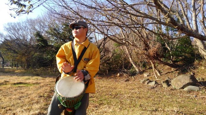 新春の伊豆の山にて初たたき_b0135942_10041803.jpg