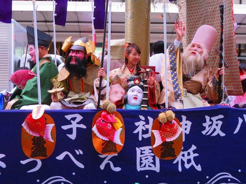 八坂戎子社(祇園えべっさん)戎子船巡行20200109_e0237645_23122256.jpg