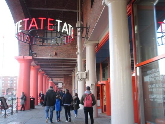 ランチ@カフェ・アット・テイト・リヴァプール/Café at Tate Liverpool(リヴァプール)_e0038047_15052841.jpg