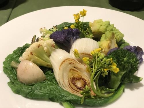 10週年記念料理 今日は前菜で・・_c0222448_18243076.jpg
