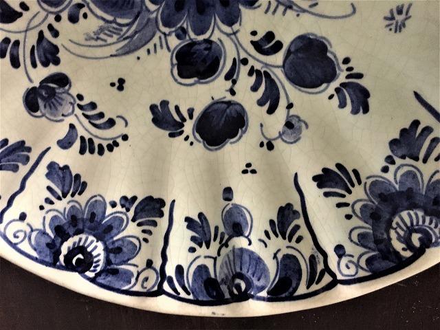 デルフト焼き手描き絵皿53   Hold(Teram1.9)_f0112550_08165152.jpg