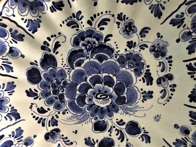 デルフト焼き手描き絵皿53   Hold(Teram1.9)_f0112550_08165199.jpg