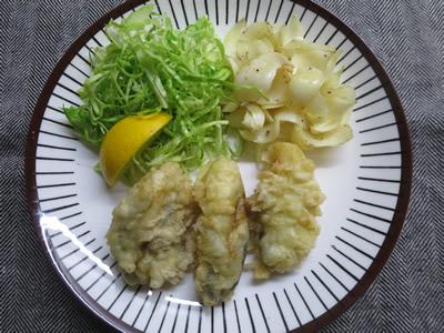 牡蠣の天ぷら_e0262651_17383579.jpg