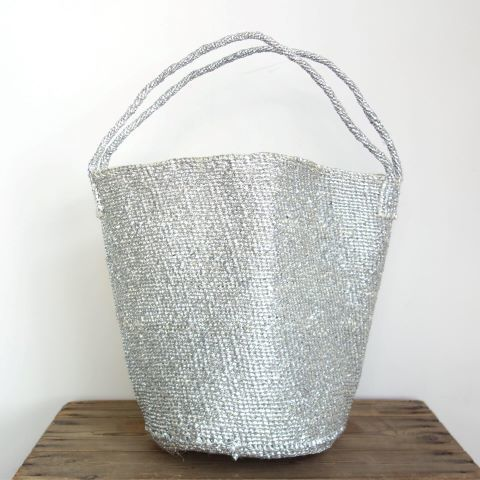 【再入荷】RECTANGLE : Silver Basket (Large Shoulder)_a0234452_13030850.jpg