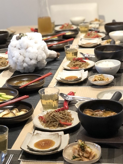 我が家の韓国料理教室「スンドゥブチゲクラス」こんな感じです_b0060363_22340904.jpeg