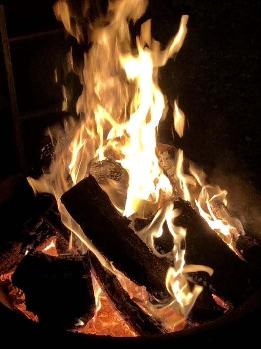 炎の中に梵字かな。  焚き火は心も骨も暖まるなり_d0105967_01205340.jpeg