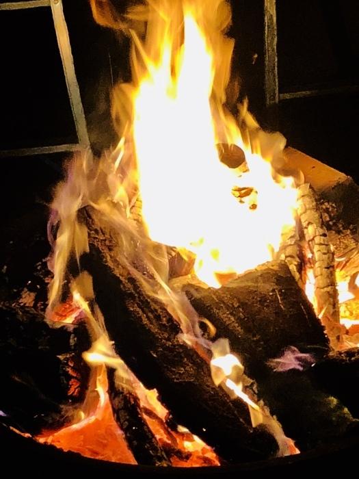 炎の中に梵字かな。  焚き火は心も骨も暖まるなり_d0105967_01215781.jpeg
