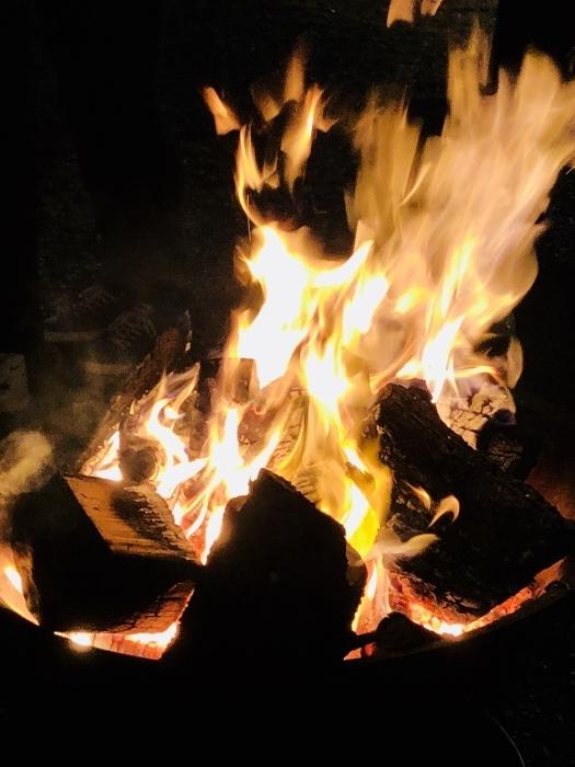 炎の中に梵字かな。  焚き火は心も骨も暖まるなり_d0105967_01222574.jpeg