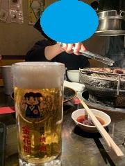 1ヶ月点検と餃子の王将と金花郎_d0140668_19563752.jpg