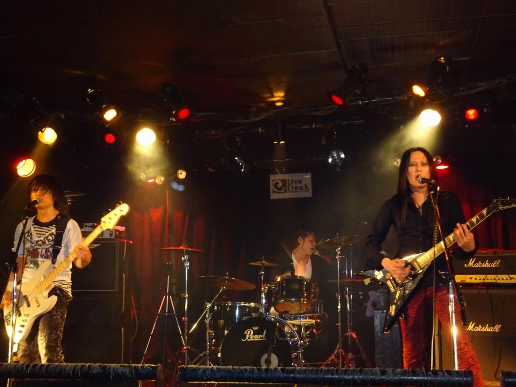 【写真集】RÖUTE LIVE!新宿ライブフリーク 令和二年一月八日_d0061678_14464961.jpg