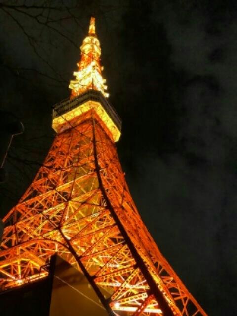 2020年、初東京タワー_e0188079_23172876.jpg