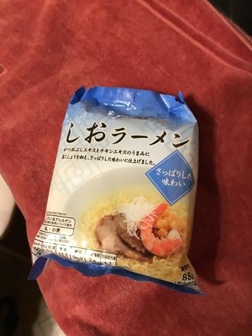 塩ラーメン 袋 TOPVALU_a0163788_21024191.jpg