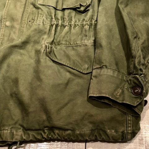 "1950s "" U.S ARMY \"" ALL cotton SATEEN M -1951 VINTAGE FIELD JACKET ._d0172088_21194805.jpg"