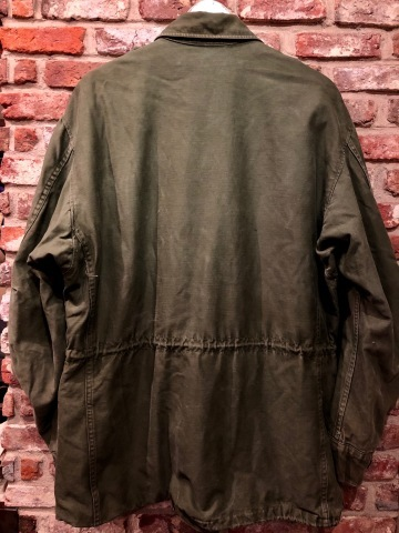 "1950s "" U.S ARMY \"" ALL cotton SATEEN M -1951 VINTAGE FIELD JACKET ._d0172088_21213600.jpg"