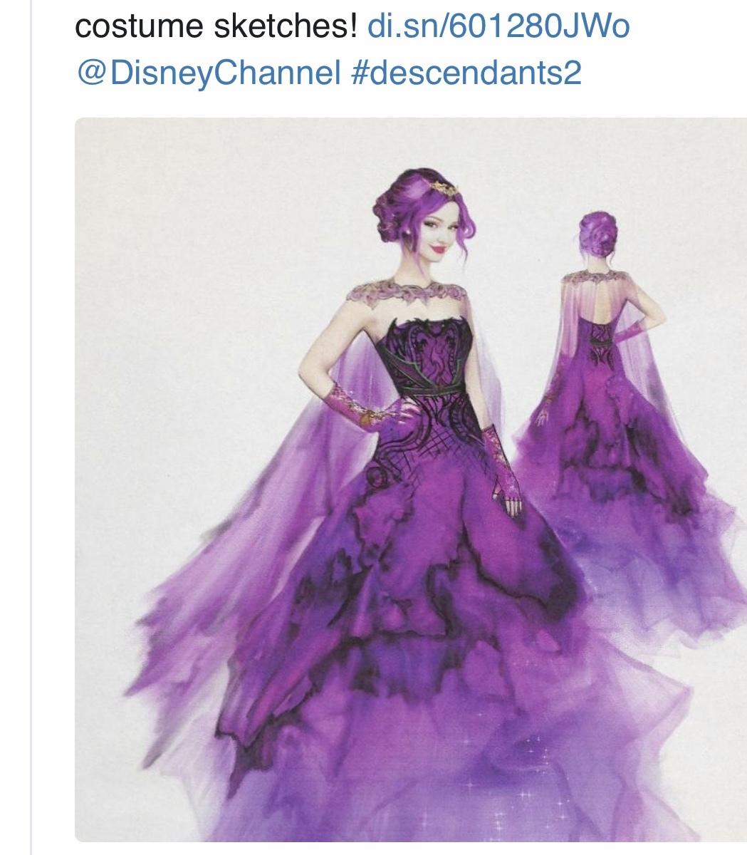 ディセンダント3のファッションが可愛い_e0397389_13410338.jpeg