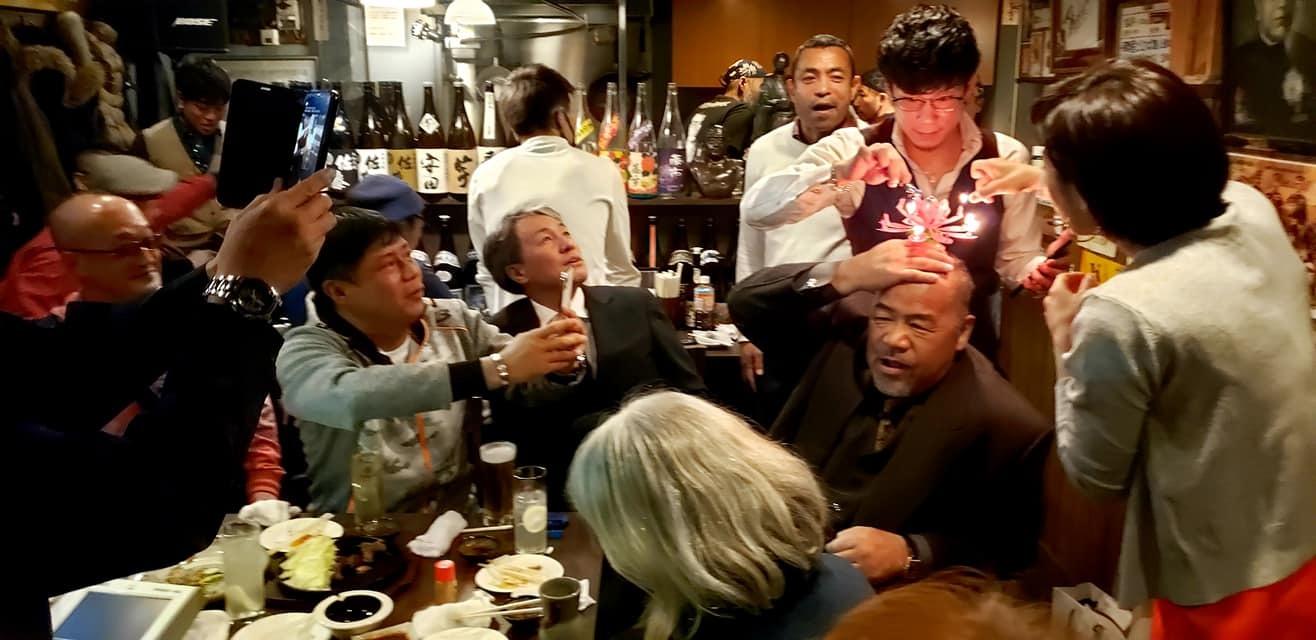 村上塾長の56歳の生誕祭に出席!_c0186691_10165176.jpg