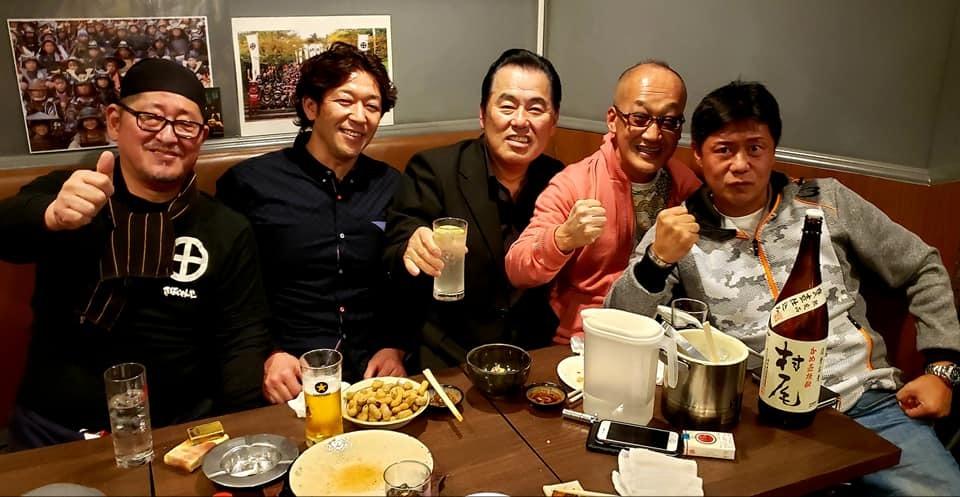 村上塾長の56歳の生誕祭に出席!_c0186691_10172962.jpg