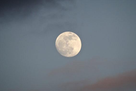 ふっくら寒の月_b0145296_19523895.jpg