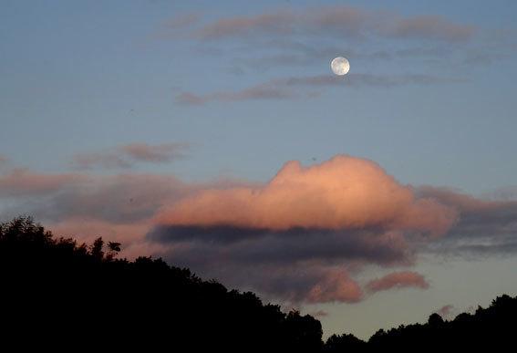 ふっくら寒の月_b0145296_19524264.jpg