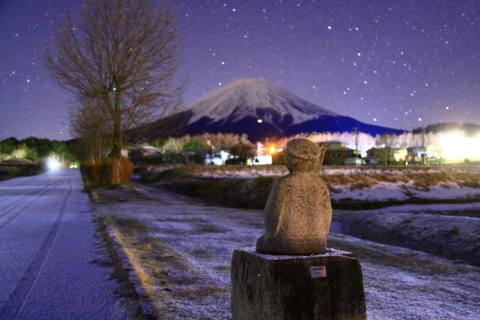 令和2年1月の富士 (3) 富士見地蔵と富士_e0344396_21041464.jpg