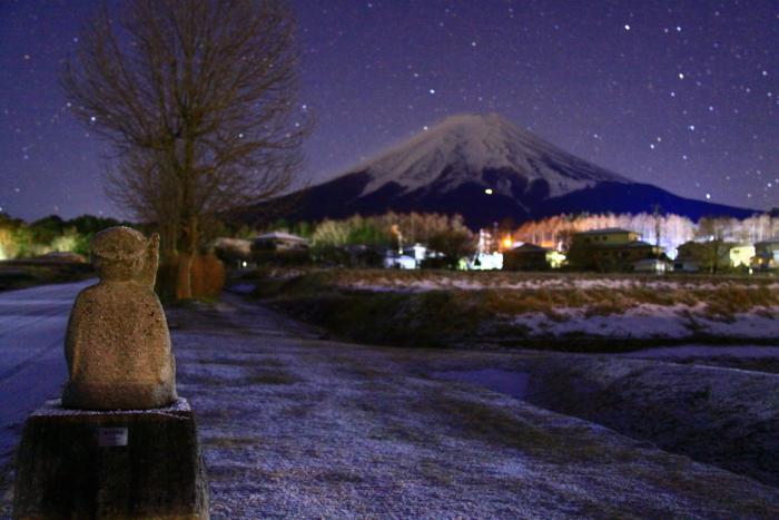 令和2年1月の富士 (3) 富士見地蔵と富士_e0344396_21042575.jpg