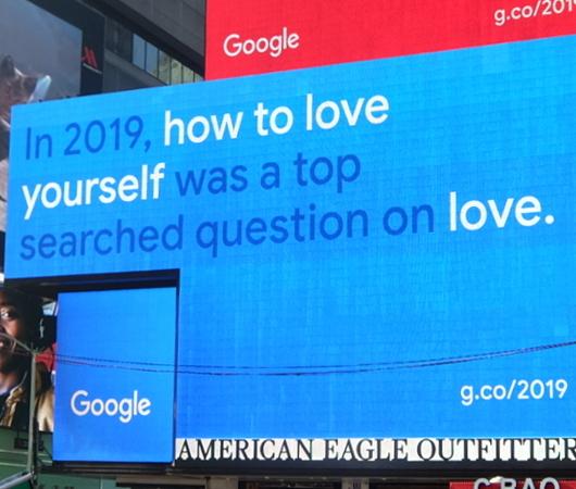 NYタイムズ・スクエアの巨大スクリーンでGoogleの流行語発表会⁉ 注目ワードはResilience(回復力)など_b0007805_12020768.jpg